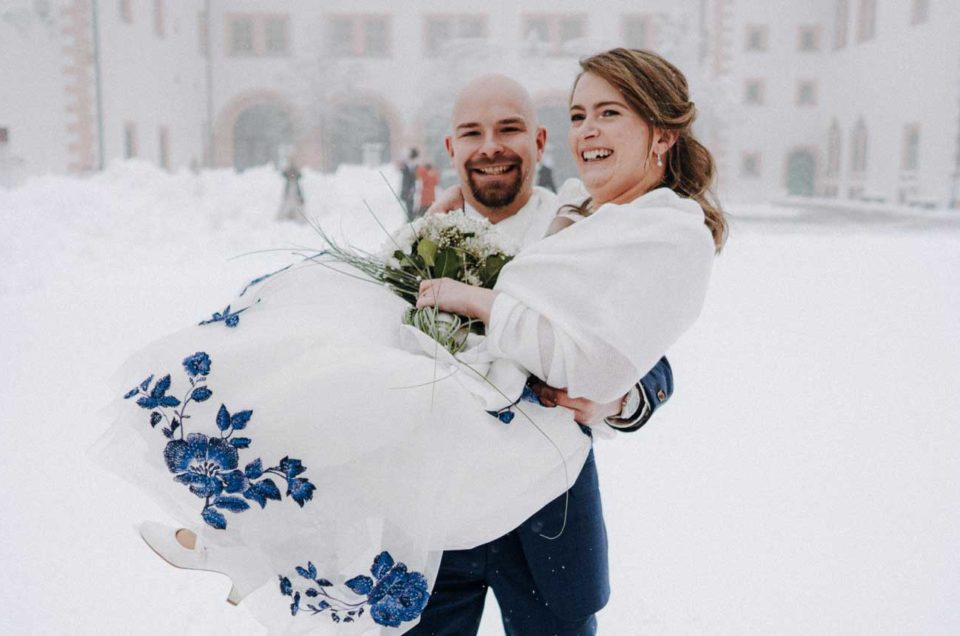 Als Hochzeitsfotograf auf Schloss Augustusburg in Sachsen